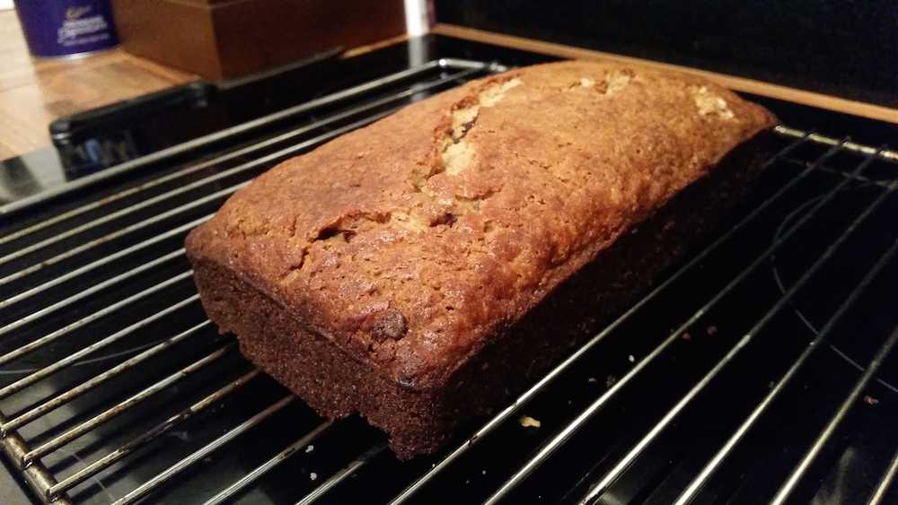 Recipe gluten free chocolate chip banana bread tyne and dine in my first post i wanted to share a recipe ive devised for gluten free banana bread initially i followed a bbc recipe but ive made this three times forumfinder Image collections
