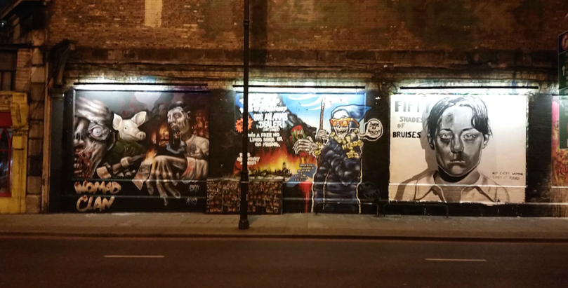 Shoreditch was full of incredible street art
