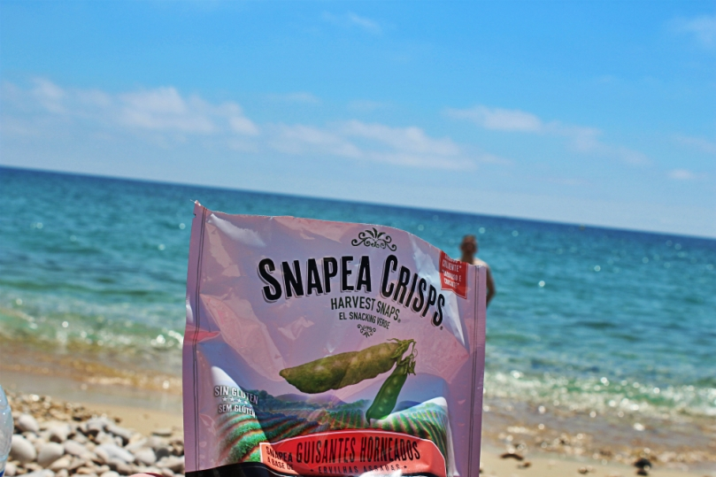 Snapeas on the beach!