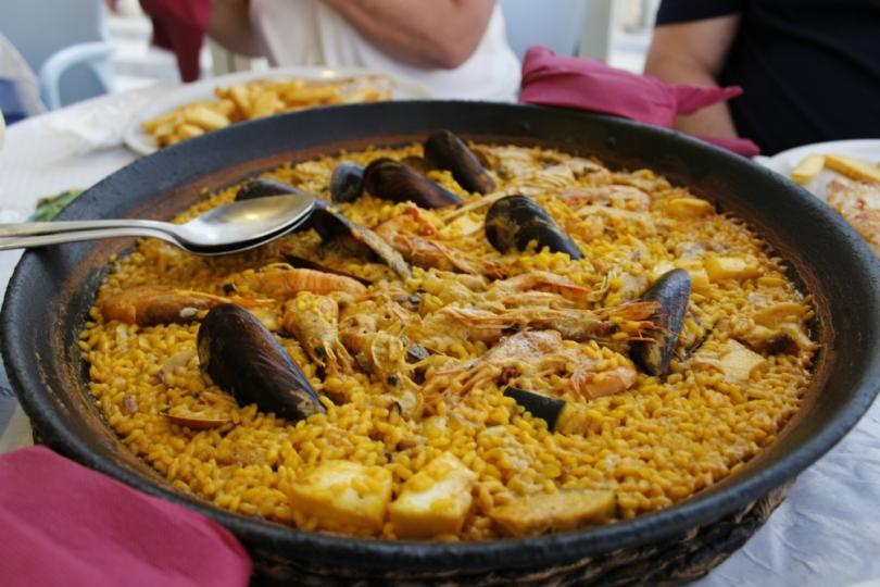 Paella in Benidorm