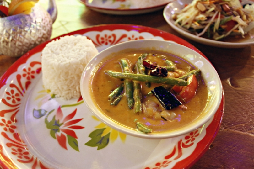 thai panneang curry