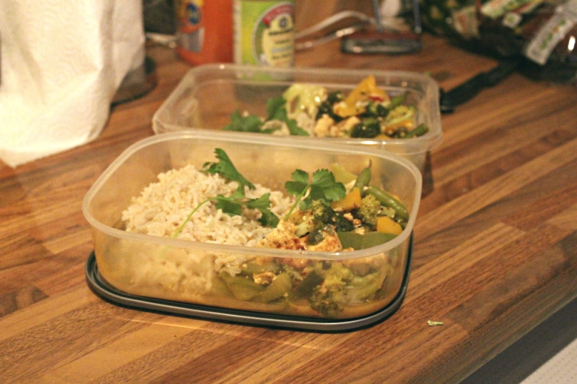 gluten freen tofu thai curry