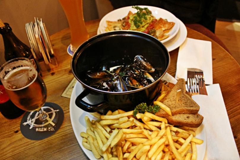 mussel pots